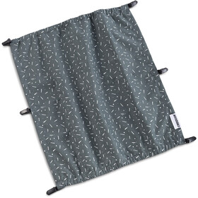 Croozer Suncover voor Kid Vaaya 2, graphite blue/white